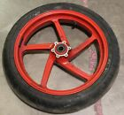 2002 Ducati Monster 900 Front Wheel Rim Tire FREE SHIPPING