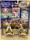 1999 DEREK JETER STARTING LINEUP CLASSIC DOUBLES MINORS TO MAJORS SLU MIB