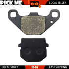 Motorcycle Front Or Rear Brake Pads for ADLY NB 125 D Noble 125 2008 2009 2010