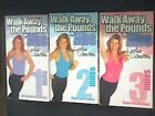 Walk Away the Pounds for Abs Leslie Sansone 3 Pre Owned VHS
