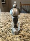 Peugeot Stainless Acrylic Pepper Mill Grinder