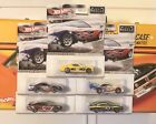 Hot Wheels 2012 Muscle Racing Lot Mustang Boss Cobra Fastback Javelin Aurora