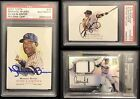 Mariano Rivera Autograph, Babe Ruth 1 1, Derek Jeter Game Used, Aaron Judge BGS