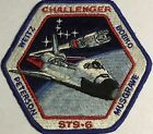 STS 6 Shuttle Nasa Mission Patch Challenger Bobko WeitzPeterson Musgrave AB Emb