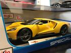 NEW COLOR Maisto 118 Scale Special Edition Diecast Model 2017 Ford GT Yellow