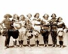 "1920'S EL PASO TEXAS TX RODEO ROUNDUP COWGIRL ""BEA KIRNAN""LADY TRICK RIDER PHOTO"
