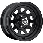 15x8 Black Vision D Window Wheels 5x55 19 Lifted Fits Chevrolet Tracker