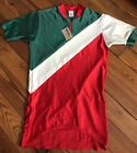VINTAGE 1970s Emily K ITALIAN CYCLING JERSEY COLORFUL small
