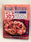 Weight Watchers New 365 Day Menu Cookbook Complete Meals HC+DJ