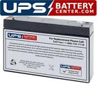 Casil CA690 6V 9Ah F2 Replacement Battery