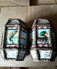 Six Sided Salt And Pepper Shakers Ducks Pond Fish