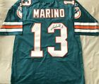 Dan Marino signed auto Miami Dolphins authentic Starter jersey Mounted Memories