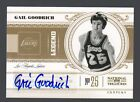 2010-11 National Treasures Gail Goodrich Legend Auto Lakers #41 99