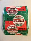 1954 Topps Baseball Wax Wrapper Dated One Cent