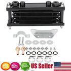 Universal Motorcycle Gold Oil Cooler Radiator CNC Plate cooling 50CC 200CC