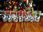 7 NEW OTHER(old stock) VTG LIBBEY COUNTRY GOOSE GEESE PINK HEARTS GLASS TUMBLERS