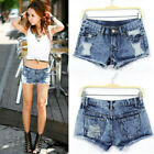 Womens S XL Sexy Summer Fashion Vintage Denim Low Waist Jean Shorts Hot Pants