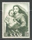 SAAR 1954,Dogma of Immaculate Conception,10f,Sc 251,VF Mint Hinged*OG (SH-10)