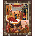 Wooden Icon Nativity of Mary     68 x 82