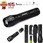 4000LM XM-L T6 Zoomable Tactical LED Flashlight Torch+18650 Battery+Charger