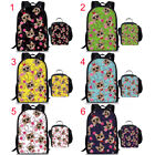 """Women Fashion Case Backpack 17"""" School Bag for Girls Book Bag with Lunch Bag 2"""