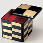 Bento Lunch box Jubako bento box black and gold Thick type Lacquer ware