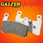 Galfer HH Sintered Rear Brake Pads For 2010-2013 HD Fat Boy Special FD406G1371