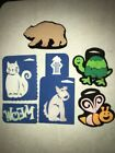 Lot Of Chunky Foam Stamps Animals Dog Cat Bee Bear Simply Stamps