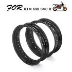For KTM 690 SMC ENDURO R 17 3.5 5.0 Supermoto Vacuum Wheel Tubeless Tires Rims