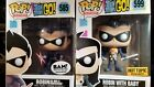 Funko Pop Teen Titans Go SET ROBIN #585 & ROBIN with Baby #599-Bam HT Exclusive