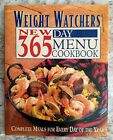 Weight Watchers New 365 Day Menu Cookbook By Inc Staff Weight Watchers 1996