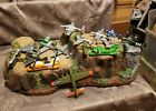 LOT OF 16 Diecast Metal Airplane Fighter Jet Bombers Helicopters Etc