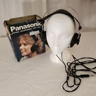 Panasonic EAH-T40 Vintage Stereo Headphones Made in Japan Tested Working In Box