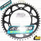 Apico Evolite Black Rear Sprocket 50T 520 For Sherco SE-F 450 4T 2005