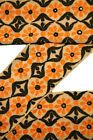 Vintage Sari Lace Border Trim Embroidered Sewing Antique Ribbon Lace 1 Yd