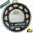 Apico Evolite Black Rear Sprocket 48T 520 For Sherco SE-F 450 4T 2005
