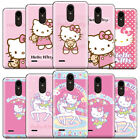 Cartoon Hello Kitty & Unicorn Pattern Phone Case Cover For LG Motorola and ZTE