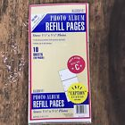 Photo Album Refill Pages Kleer Vu Holds up to 60 Photos + Caption Stickers NOS