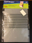 NEW Cropper Hopper Acid Free Card Keeper 2 sheets FREE shipping