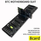 DDR3 Memory Notebook Motherboard Suit Support 8 Cards With SATA MSATA Sockets US
