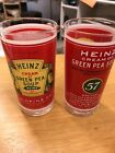 Vintage Georges Briard Heinz Cream Of Green Pea Soup12 Oz. Drinking Glasses