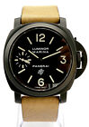 Panerai 001 K Series DLC with Extra Strap MINT Manual Wind 44MM Unitas
