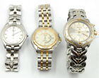 LOT OF (3) SEIKO GENTS WORKING KINETIC WRIST WATCHES SPORT 50 NO RESERVE