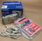 Olympus CAMEDIA D-380 2.0MP Digital Camera - Silver Tested-with box and cable