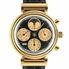 IWC 3750 DaVinci Rose Gold Perpetual Calendar Chronograph Moonphase IW3750-25