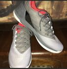 UA Stephen Curry 3 Low Grey Black Red Under Armour Sneakers Size 12 Mint