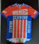 Vintage Paramount Schwinn Wheaties Racing Cycling Jersey Cotton Blend Mens L