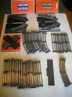 Lionel 33 Piece Lot 027 Curved  Straight Track  5 Switches in Boxes