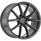 20x85 Gray TSW Sprint Wheels 5x120 +20 Fits BMW 735i735iL750iL 528