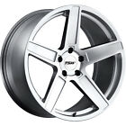 19x85 Silver TSW Ascent Wheels 5x120 +15 Fits BMW 735i735iL750iL 530x